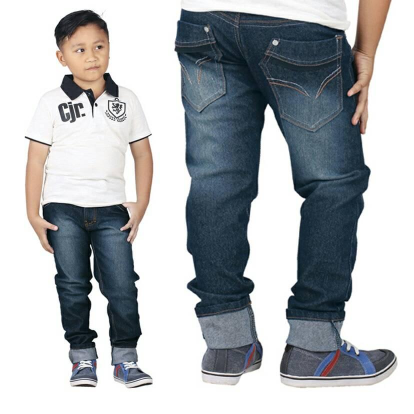 Celana Jeans Anak Laki-laki Original Catenzo Junior CNU 011