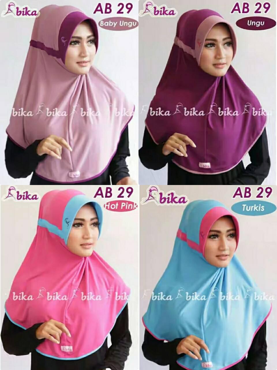 Jual Bergo Serut Naura By Abika Ab29 Miulan Tangerang Tokopedia Hijab