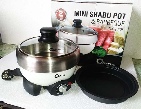 Mini Shabu Pot Dan Barbeque Oxone OX-16CP