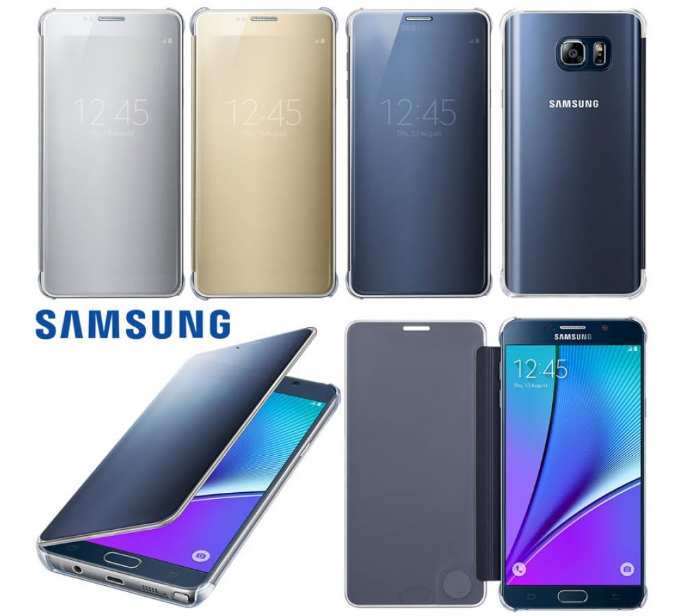 san francisco cd2b6 ddfab Jual Samsung Clear View Cover Galaxy Note 5 Original - Jakarta Pusat ...