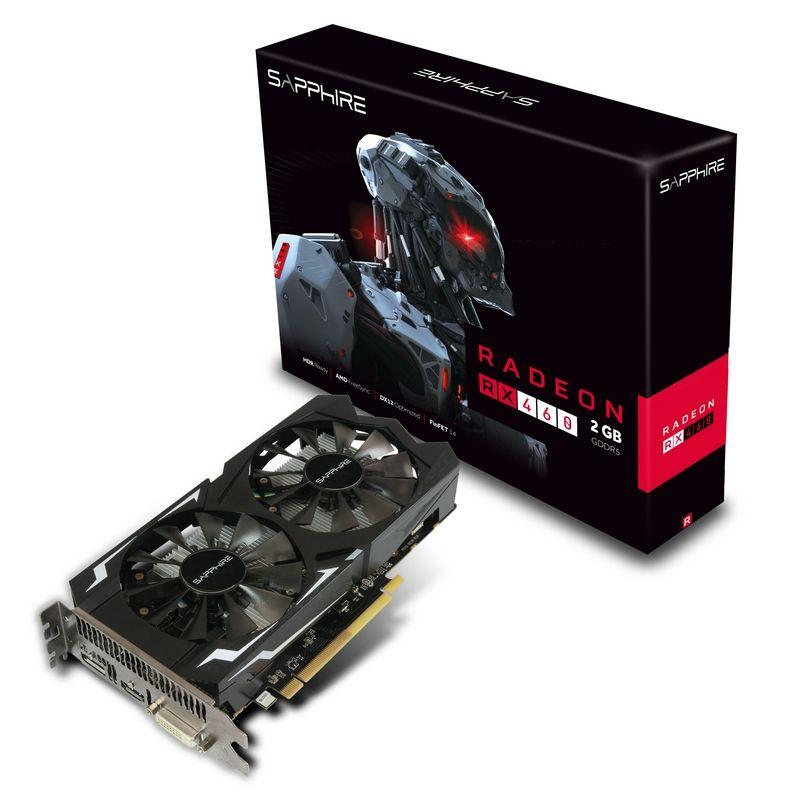 VGA SAPPHIRE RX 460 2GB DDR5 OC