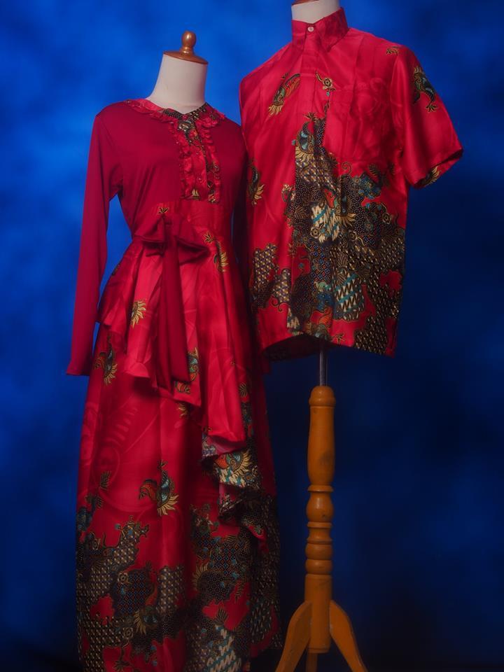Harga Batik Gamis Sarimbit Murah 1 Di Kab Cirebon Jawa
