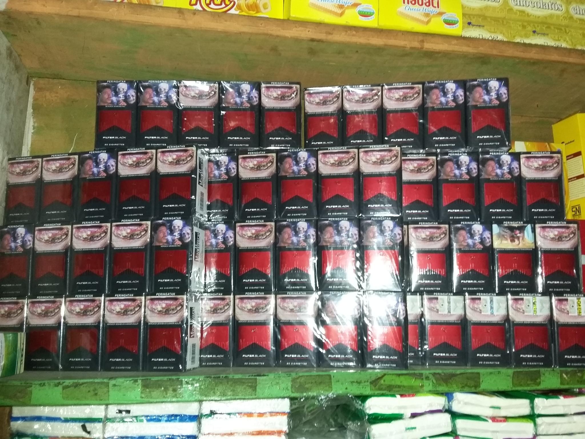 Jual Rokok Marlboro Filter Black Toko Aa Tokopedia 20