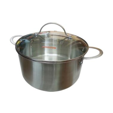 Panci 20 Cm - Fincook Stainless Steel Dutch Oven
