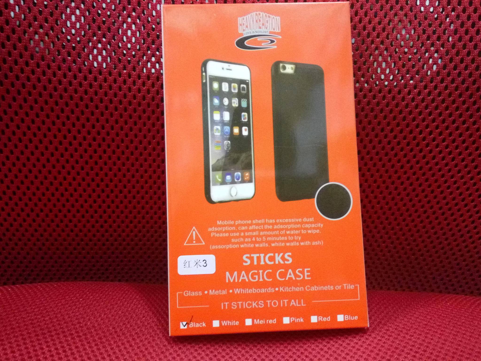 official photos 25138 8765c Jual Xiaomi Redmi Note 3 Pro Anti Gravity Case Magic Stick Back ...