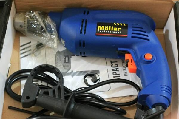 Powertools / Alat Teknik / Drill Impact - Mesin Bor 10mm Mollar
