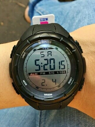 SKMEI 1025 Digital Original Sport Watch (G-Shock, Digitec, Swiss Army)