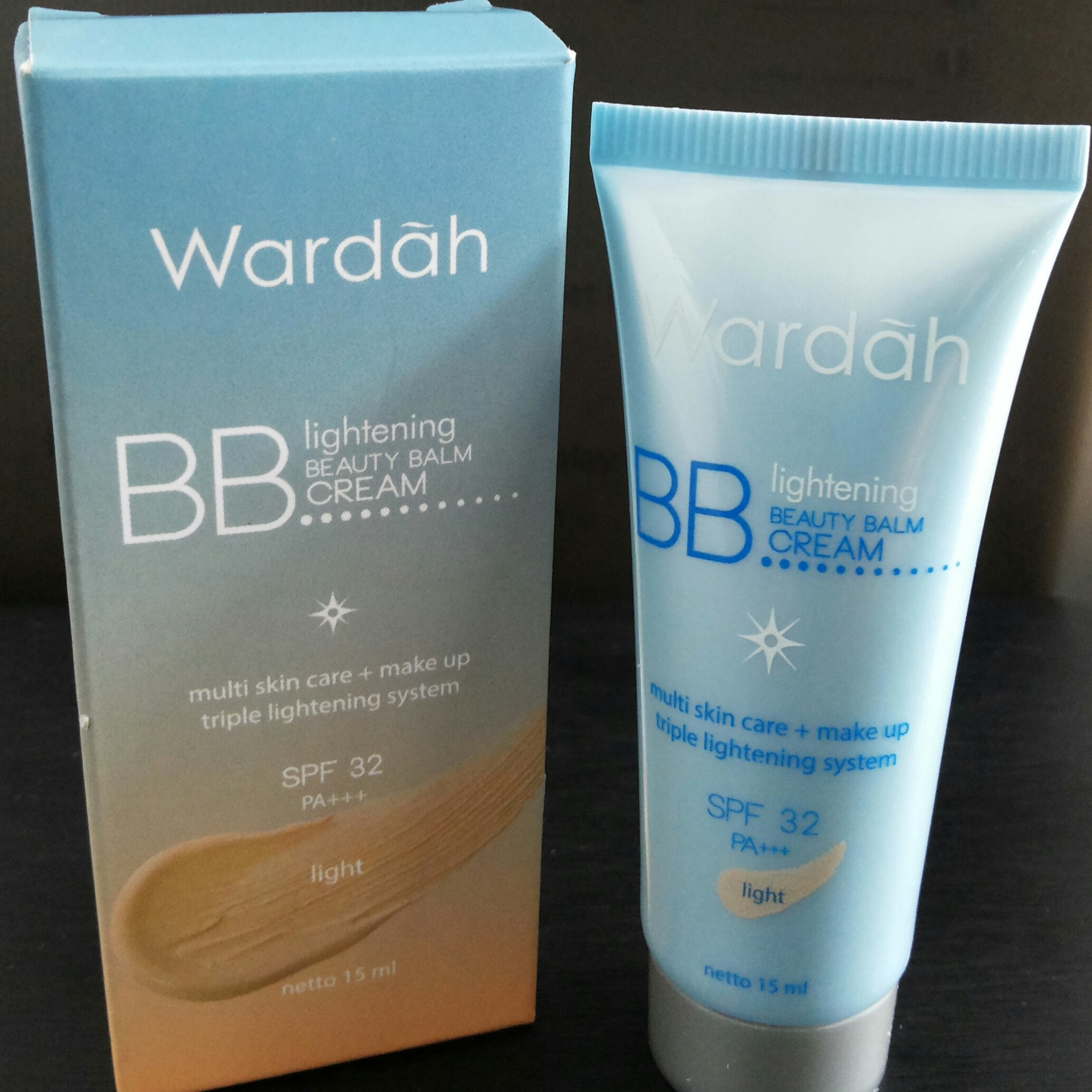 Wardah Paket Bb Cream Lightening Spf 32 Natural 30ml Gratis Spons Jual Ukuran 30 Ml