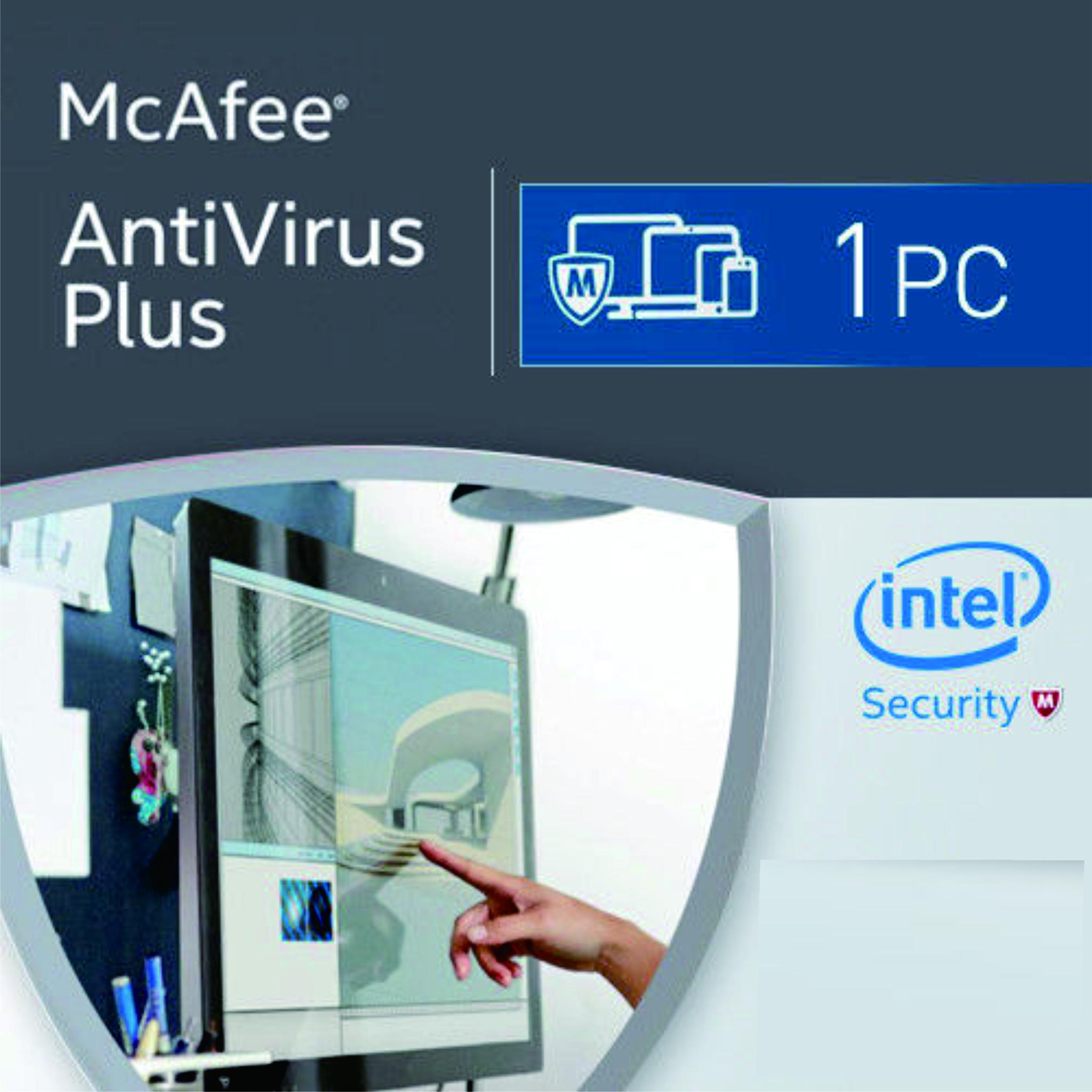 Jual Mcafee Antivirus Plus 2016 1pc 1user Igcmania Tokopedia Anti Virus Internet Security 3 Tahun 1 User