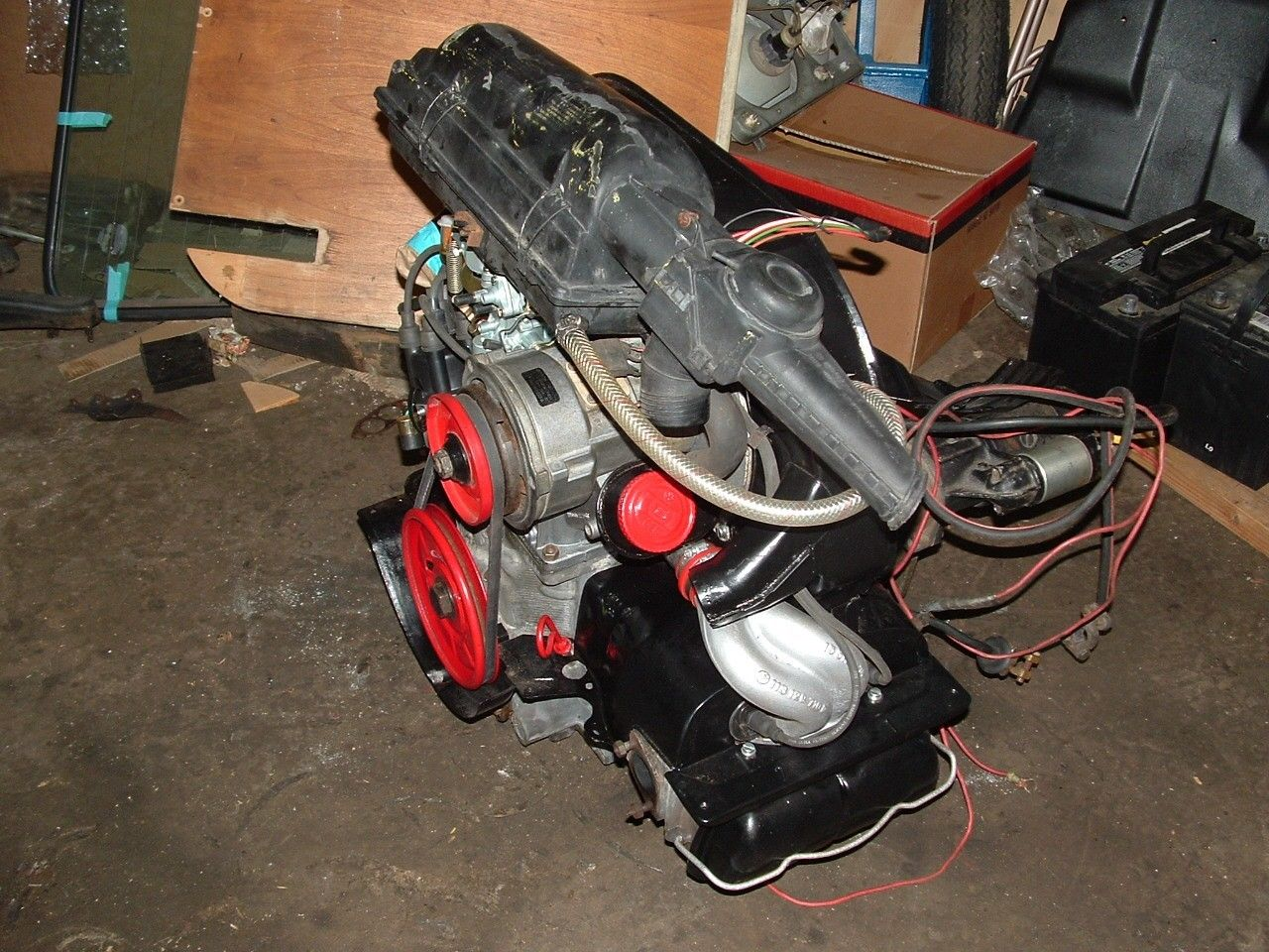jasa import USA mesin mobil VW Engine air cooled 1600cc Dual Port