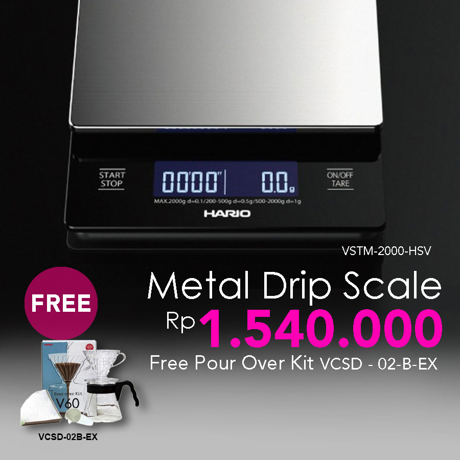 Jual Hario Promo Metal Dripscale Vstm 2000 Hsv Free Pour Over Kit Drip Scale 2000hsv Indonesia Os Tokopedia
