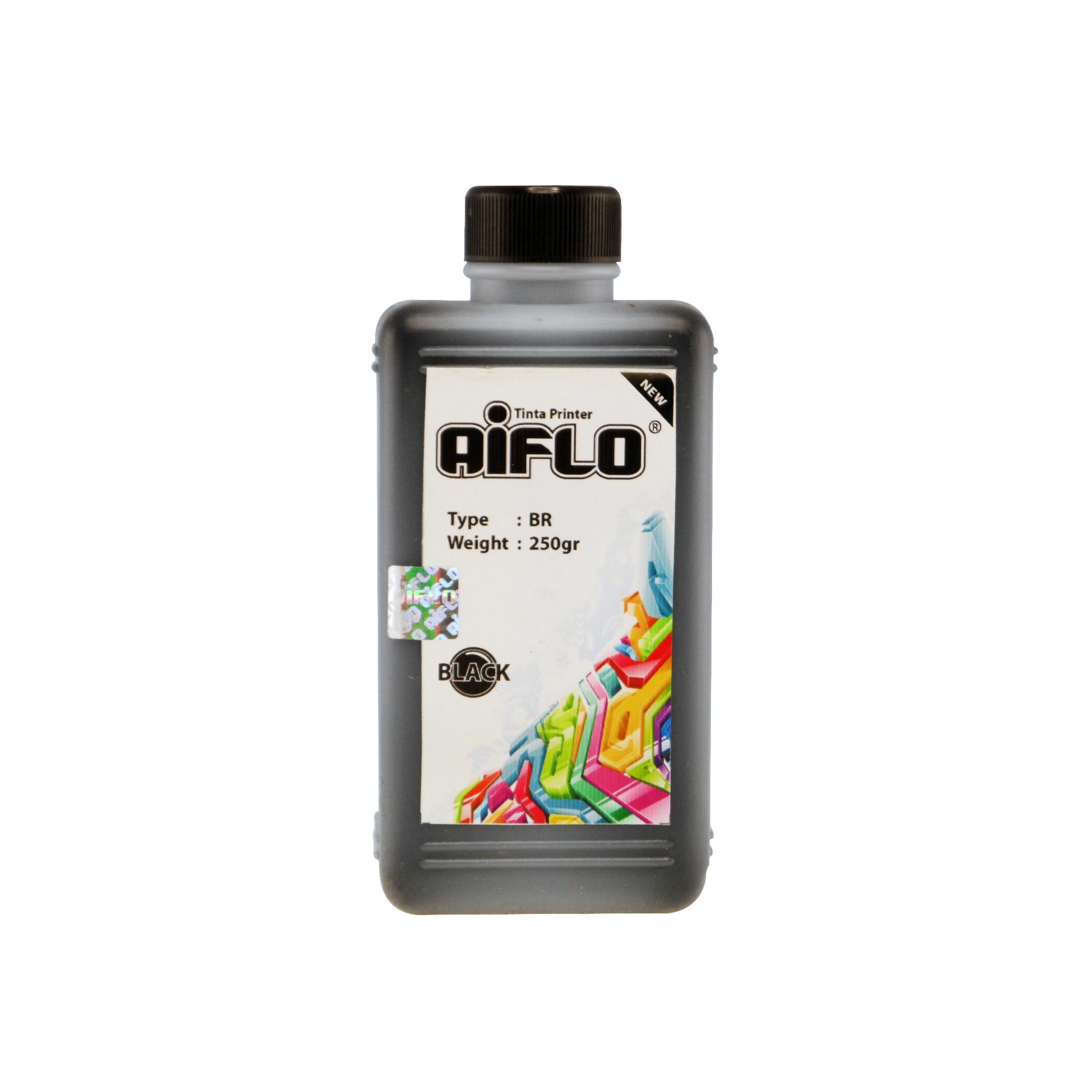 harga Tinta Printer Aiflo Black 250ml Untuk Brother J100 J200 J3520 J2510 Blanja.com