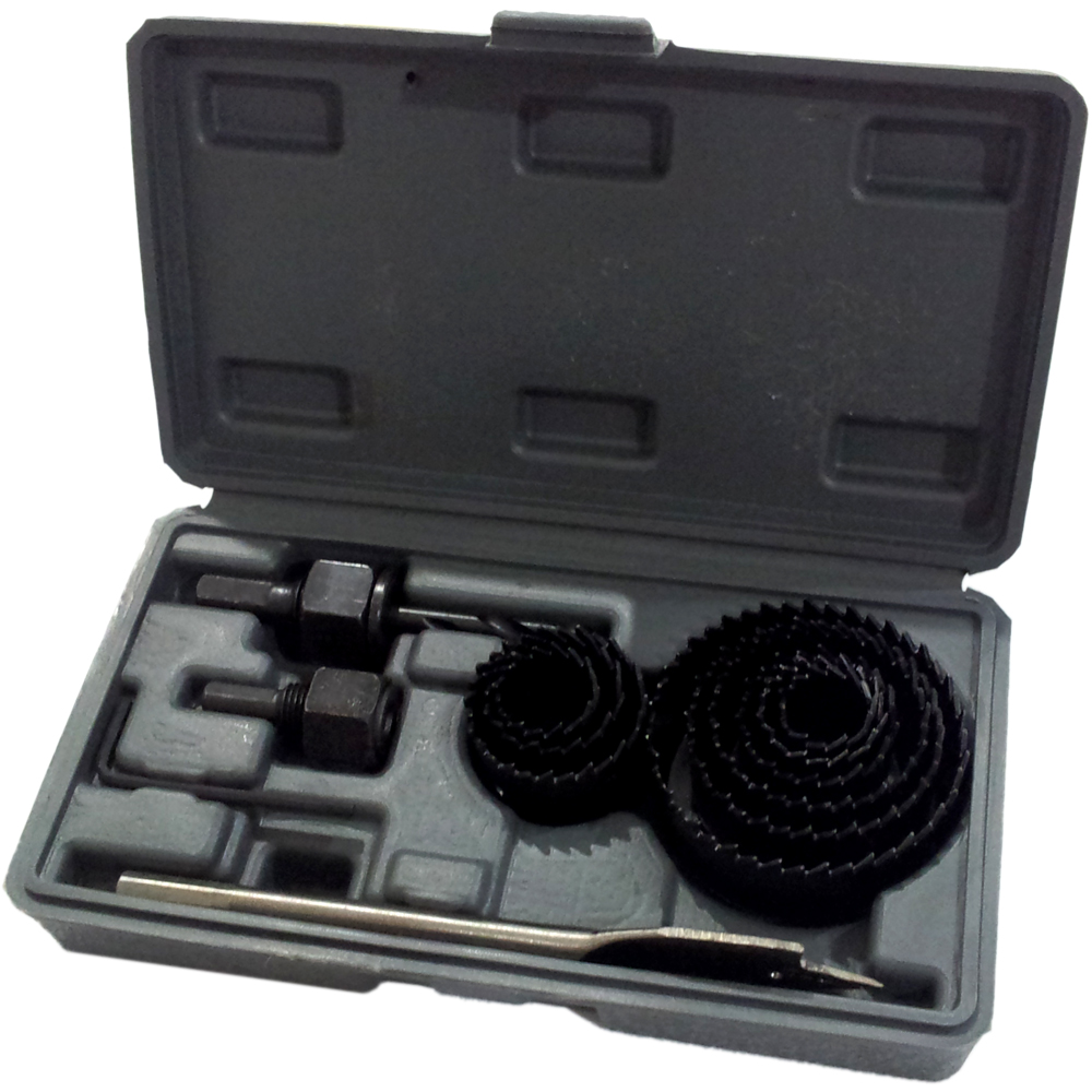 Holesaw Kit / Hole Saw Kit / Mata Bor Pelubang Kayu Set 13pc Nankai