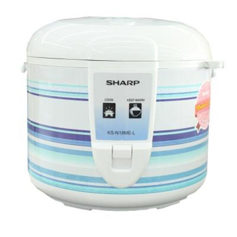 Sharp Ks N18me L Rice Cooker 1.8l - Putih Banting Harga