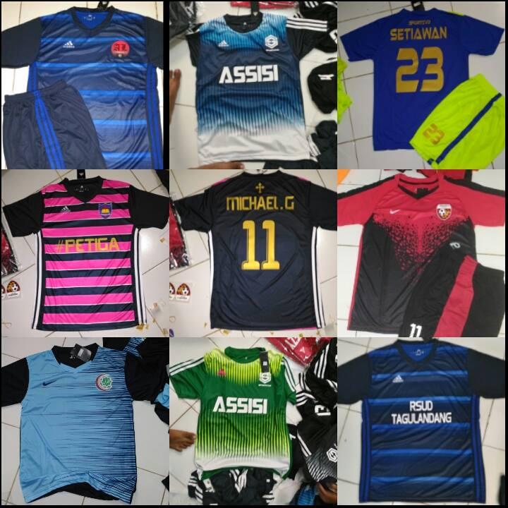 Jual PAKET MUKIDI Kaos Jersey Futsal Setelan +Nama Nomor +Logo ... 71f242cde2