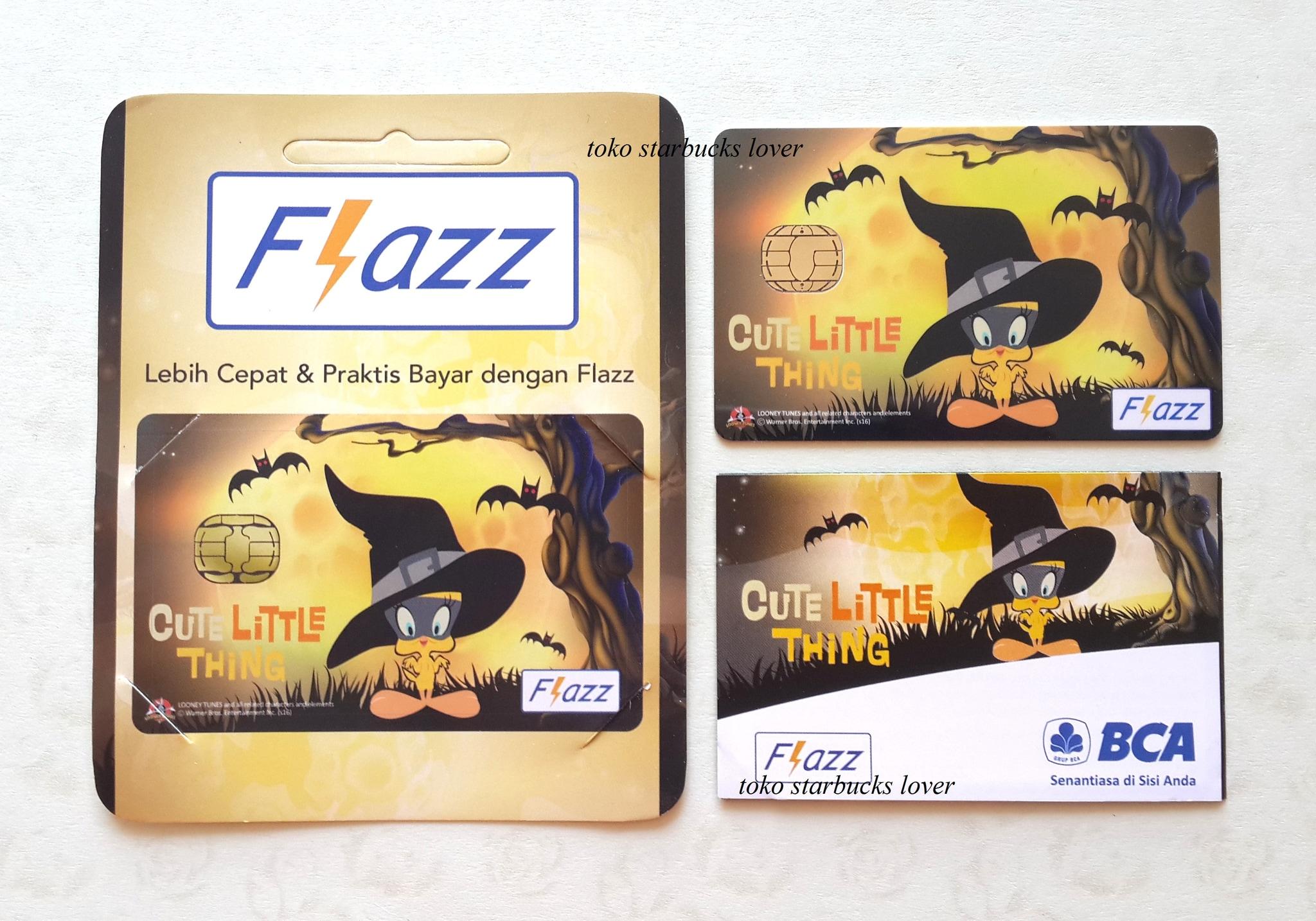 Kartu Flazz BCA Saldo 0 Looney Tunes Halloween