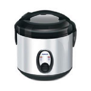 Magic Com, Penanak Nasi, Rice Cooker Sanken Stainless 1 Liter Harga Dis