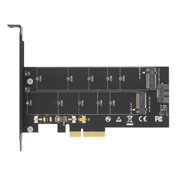 M.2 Adaptor Pci Pcie X4 NGFF M Key B Key Samsung 950 Ssd Nvme Support