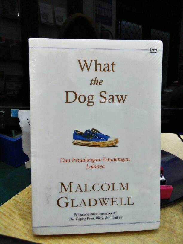 what the dog saw essay