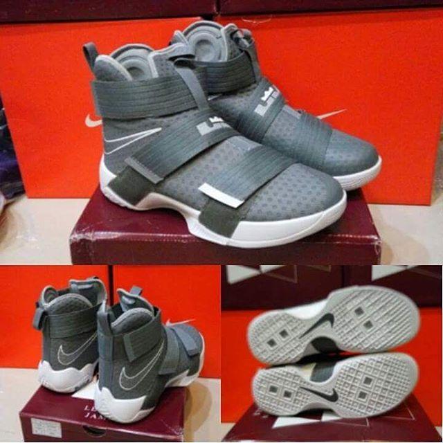 b45c47c680e19 ... Jual sepatu basket nike lebron soldier 10 cool grey - Pivot Store  Online Tokopedia ...
