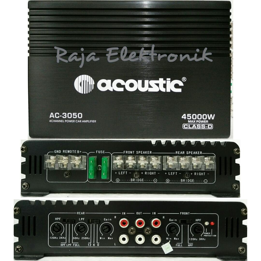 Jual Power Ampli Mobil Acoustic Ac