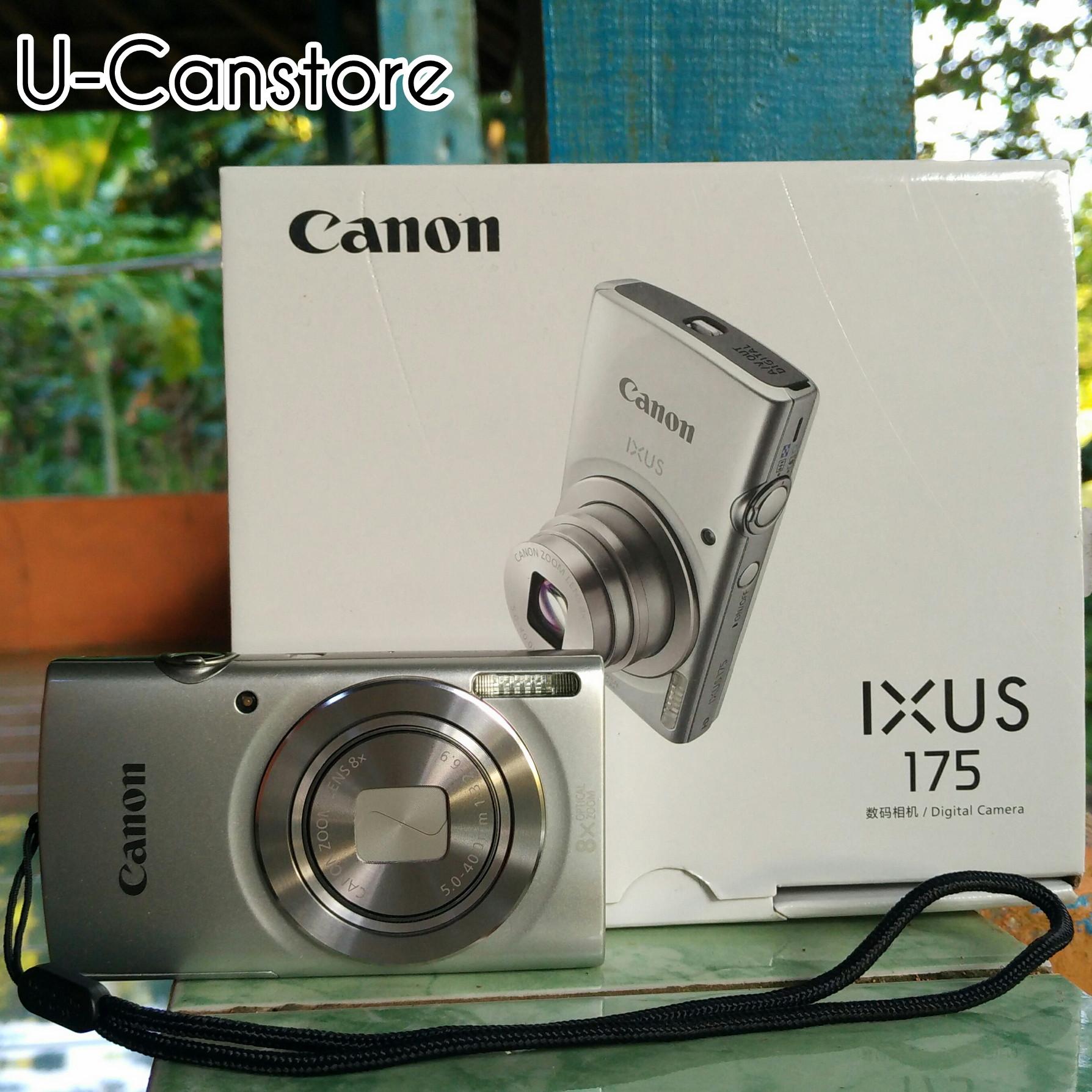 Jual Kamera Digital Canon IXUS 175 20MP 8X Optical Zoom Second U Canstore