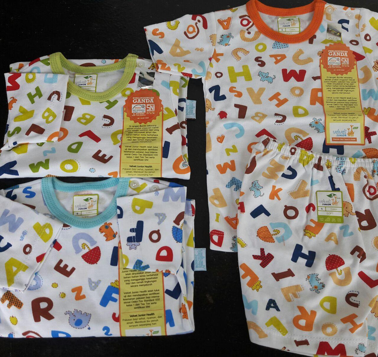 Velvet Junior Balon Udara Setelan Panjang Size S M L Xl Xxl Review Pendek Oblong Sml Animal Baju Tidur Bayi Piyama 12 24m