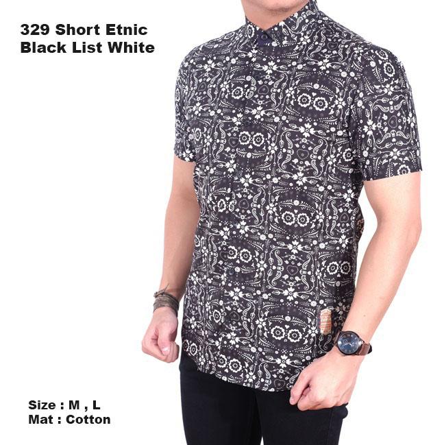 ... Terbaru Source Jual baju batik pria lengan pendek kemeja batik modern cowok pendek Brotherholicstore Tokopedia