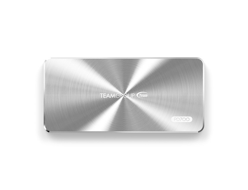 Team EXT SSD PD700 480GB T8FED7480GMC109 (Silver)