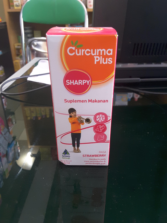 Jual Curcuma Plus Sharpy 60 Ml Wj Farma Jayapura Tokopedia