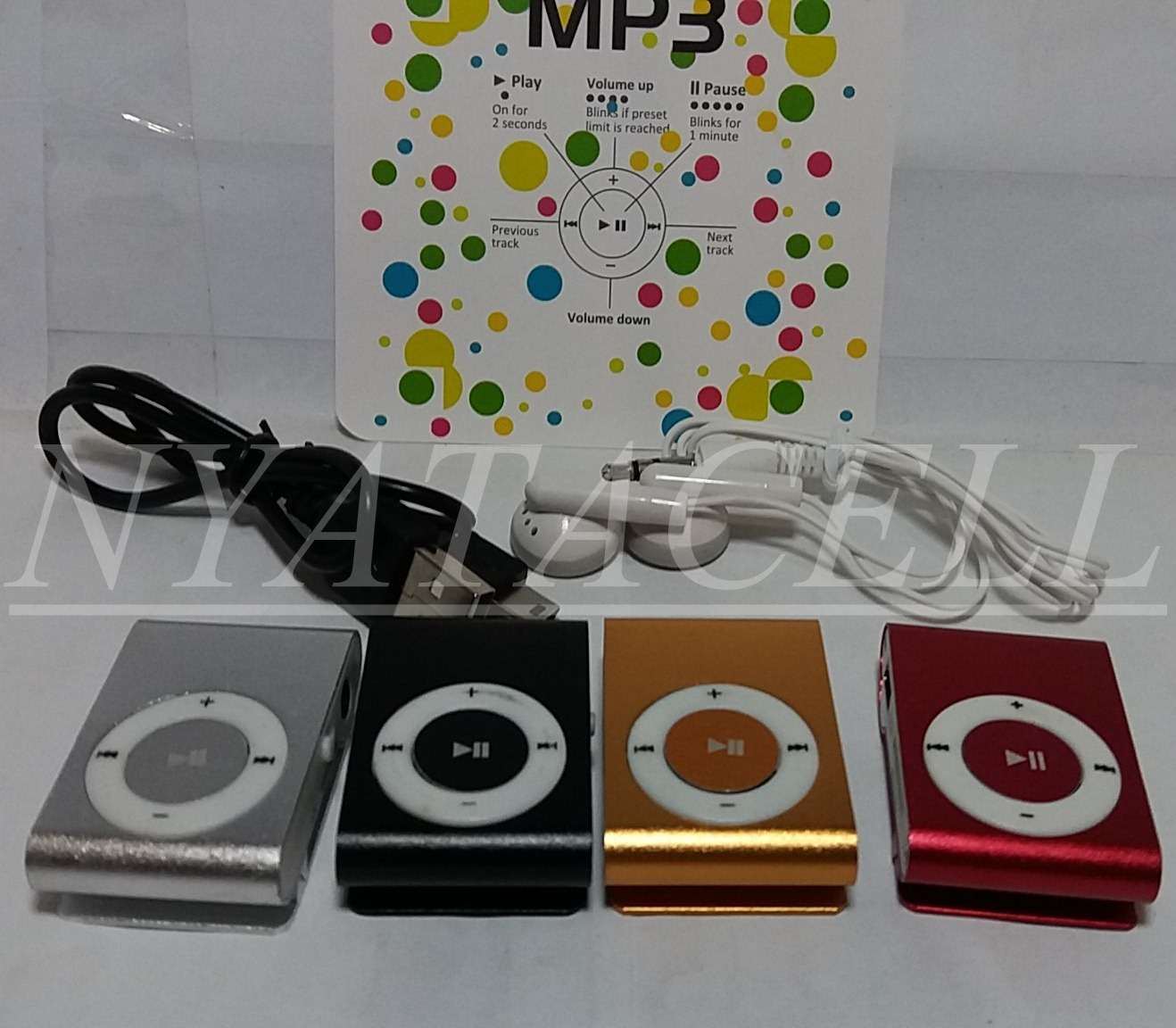 Mp3 Player Mini (Shuffle, Jepit, Votre Model SD-01)