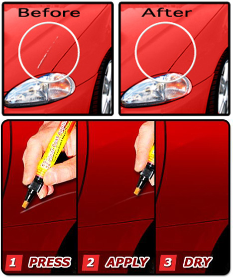 Magic car scratch remover pen review 9