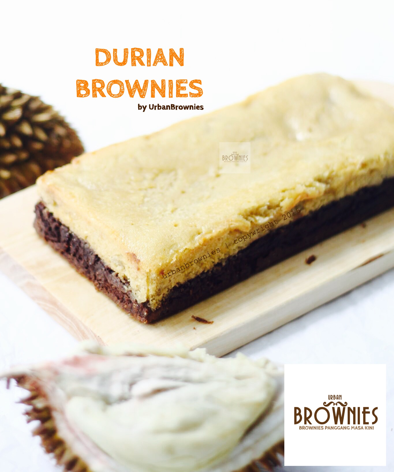 Image result for Brownies Durian