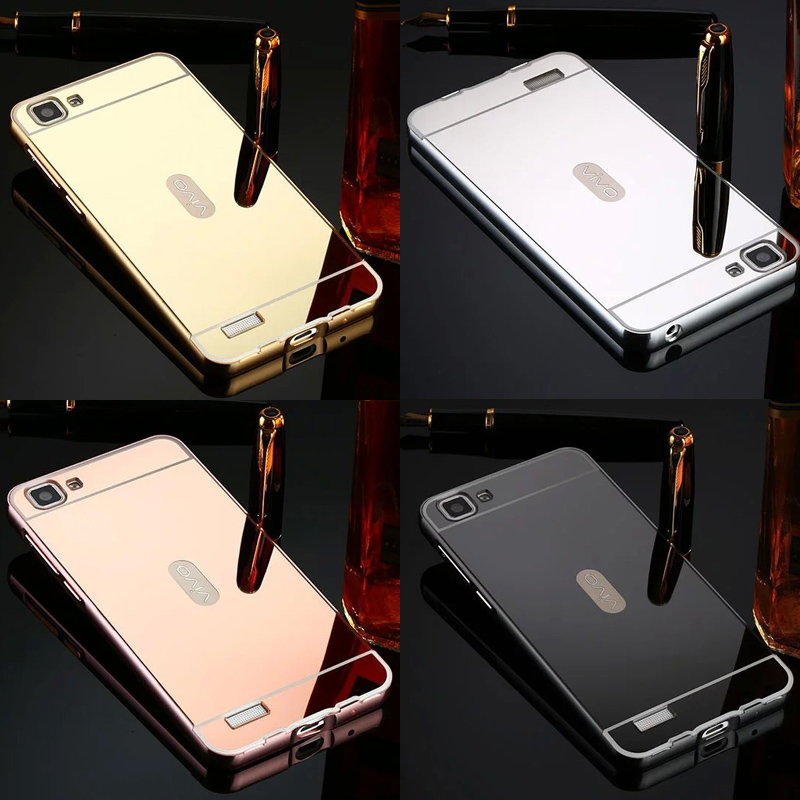 Rose Gold Daftar Source Jual Vivo Y35 Bumper Mirror Backcase Sliding Hardcase Metal .