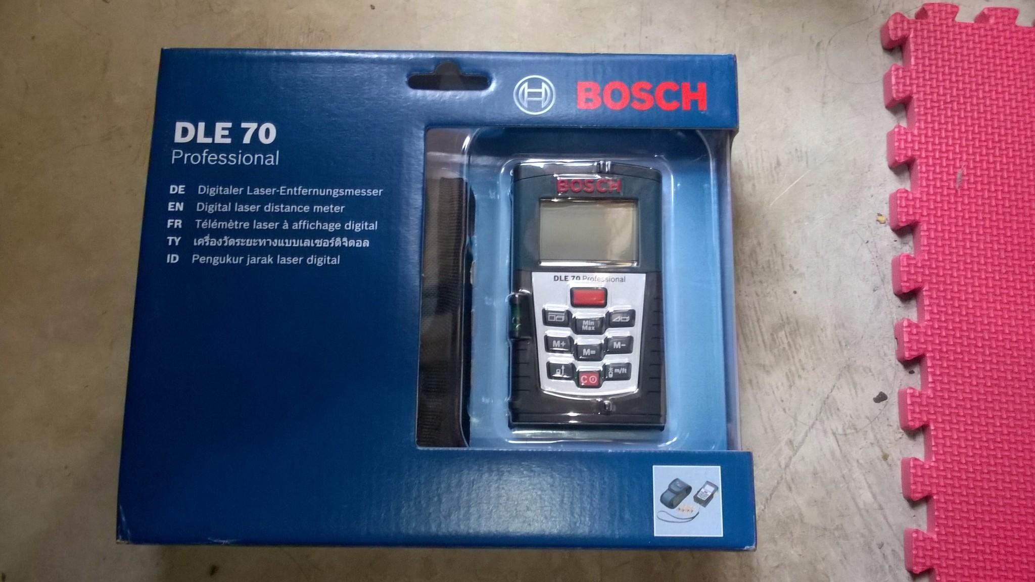 Bosch entfernungsmesser dle 70: laser entfernungsmesser bosch dle 70