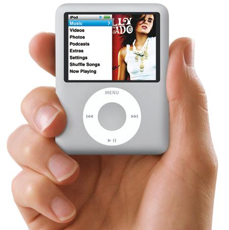 Apple IPod Nano 4 GB 3rd Generation (Silver)