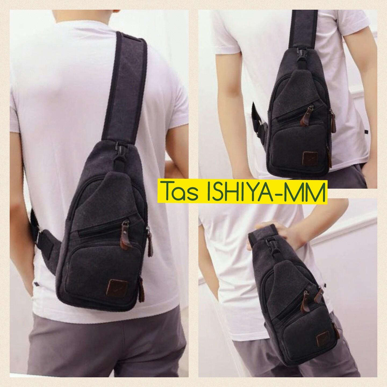 Jual Tas MX09 Selempang Pria Sling Bag Kanvas Murah cowok Impor slingbag -  Praha Shoes   Watch  eaf9250f69