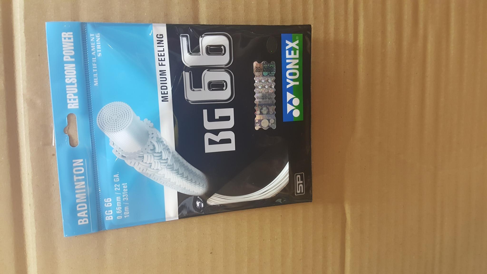 Yonex Bg 66 Sp Senar Raket Badminton Blue Unstrung New Best Buy Source · Senar raket