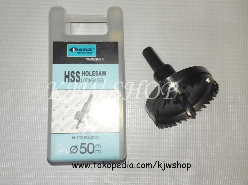 Holesaw / Hole Saw / Pelubang PVC Kayu Plat HSS Ukuran 55mm