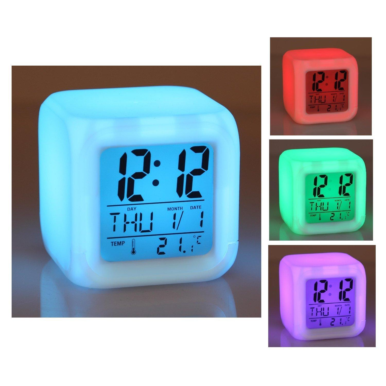 Jual Jam Meja Glowing LED Color Change Digital Alarm Clock - JK-2519 -  BudgetGadget  8562f941f0