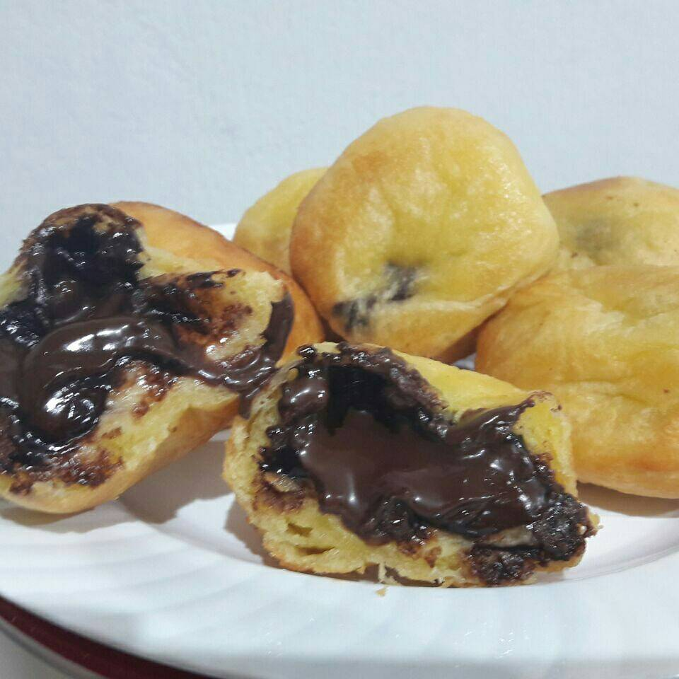 Roti Goreng Keju & Coklat