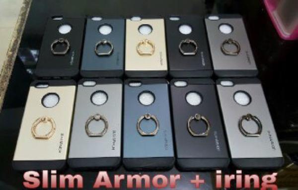 Spigen Slim + Iring Iphone,Samsung,Oppo,Xiaomi,Lenovo,Vivo,Asus