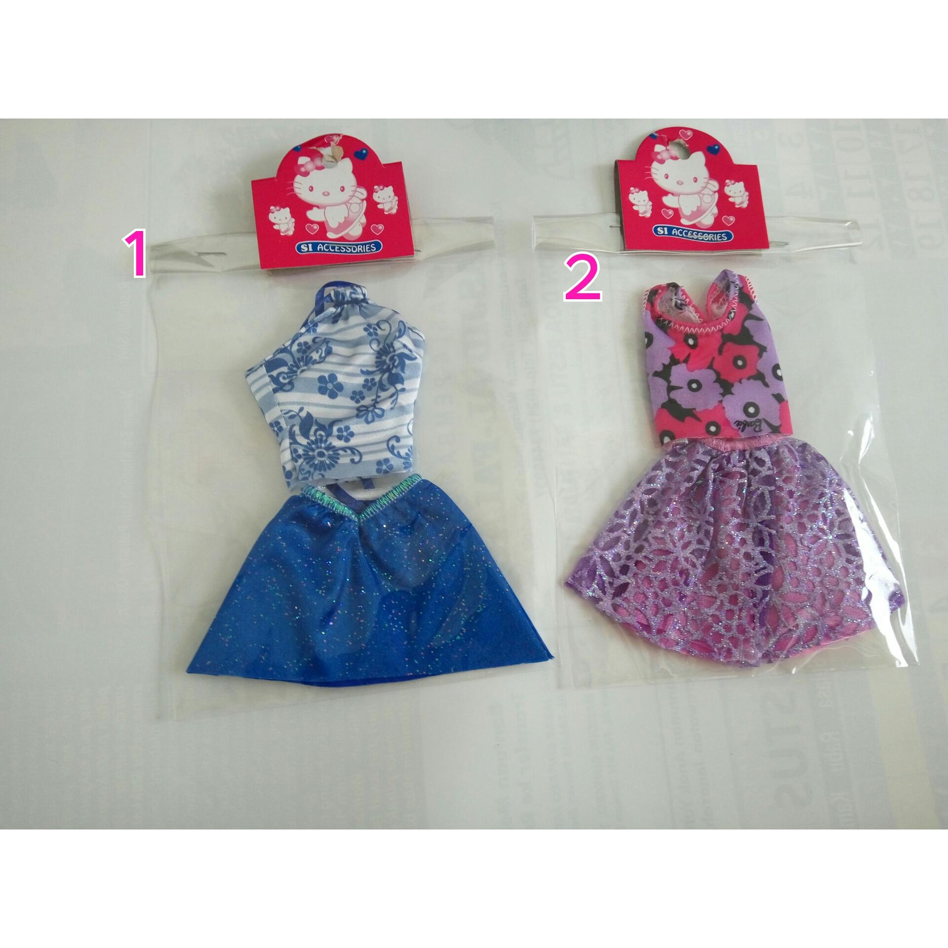 3 Daftar Harga Baju Barbie Dress Cantik Terbaru 2017 Lengkap Katalog Berbie Mattel Mini
