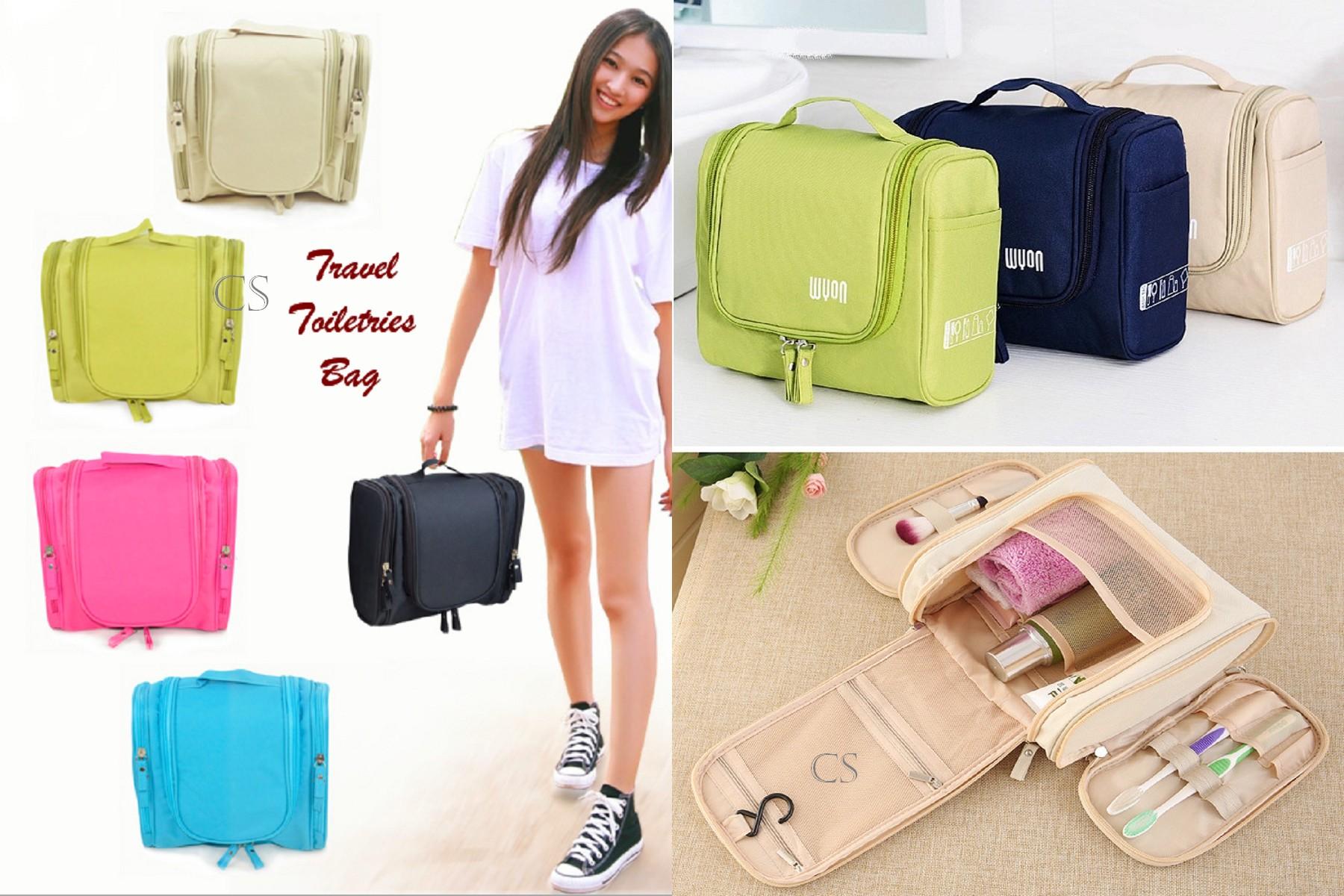 ... Jual Travel Toiletries Bag Tas untuk tempat kosmetik & perlengkapan mandi riiyanshop Tokopedia