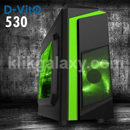 Dazumba D-Vito 530 (Non PSU - 4 Fans Included)