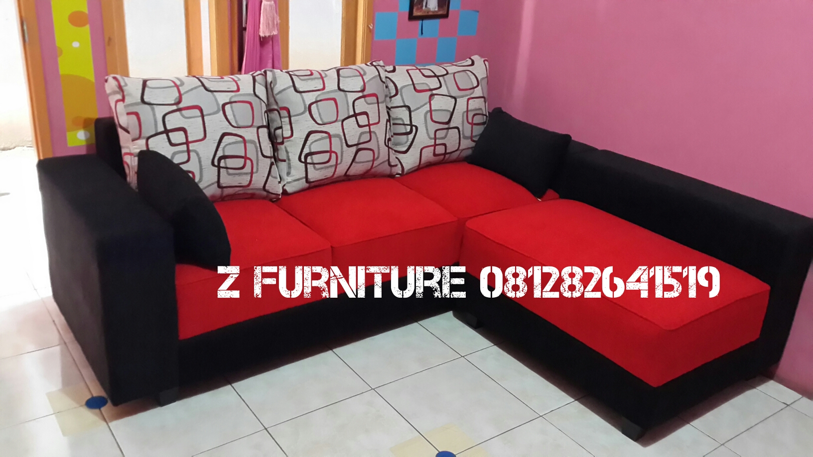 Jual Sofa L Minimalis Z Furniture TERMURAH Tokopedia