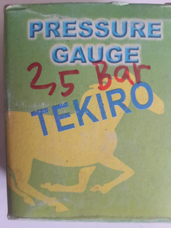 Jual Pressure Gauge 63mm 25 Bar Tekiro Terminal Teknik Perkakas Tokopedia