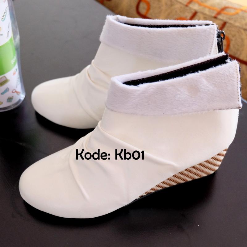 Sepatu Boots Heels Wanita Sepatu Boots Wanita Korea Style - Daftar ... 5024ed64d4