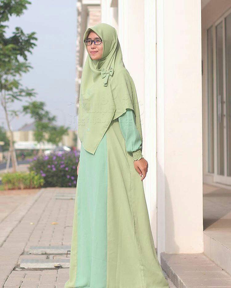 gamis set hijab alila
