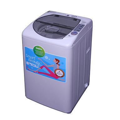 Sanyo Aqua Mesin Cuci 7kg Sanyo ASW-76HT